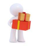 Livraison des cadeaux de Noël Photo stock