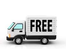 Livraison gratuite Photographie stock libre de droits