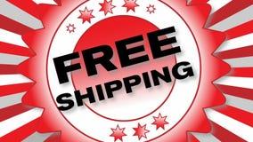 Livraison gratuite Photos stock