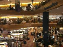 Livraria Cultura, traditional bookstore in Sao Paulo city stock image