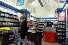 Livraria em Roma Imagem de Stock