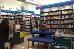 Livraria em Roma Foto de Stock Royalty Free