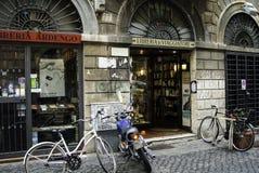 Livraria em Roma Imagens de Stock