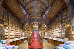 Livraria Lello, the famous bookshop in Porto, Portugal