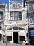 Livraria Lello, Oporto Portogallo Fotografia Stock Libera da Diritti