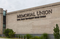 Livraria memorável da união e da universidade estadual de Iowa Imagem de Stock