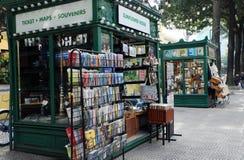 Livraria na rua do livro imagens de stock