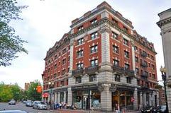 Livrarias de Harvard, Boston, EUA Imagens de Stock