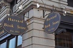 Livrarias de Harvard, Boston, EUA Imagem de Stock