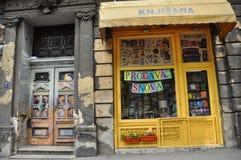 Livrarias em Belgrado fotografia de stock royalty free