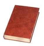 Livre à couverture dure rouge Images stock