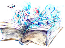 Livre illustration de vecteur