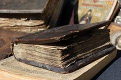 Livre antique images stock