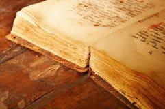 Livre antique Photographie stock libre de droits