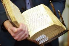 Livre antique Photo libre de droits