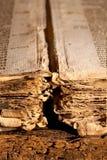 Livre antique gothique Photographie stock libre de droits