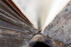 Livre antique/vieux Photo libre de droits