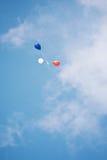 Livre balões fotografia de stock