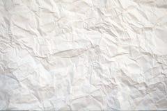 Livre blanc écrasé Images libres de droits