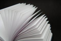 Livre blanc Image stock