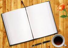 Livre blanc Photographie stock libre de droits