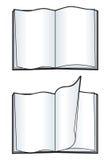 Livre blanc illustration stock