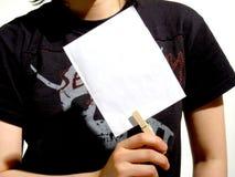 Livre blanc Photos libres de droits