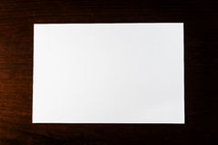 Livre blanc blanc Images libres de droits
