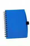 Livre bleu Photo stock