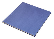 Livre bleu Images libres de droits