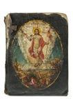 Livre chrétien antique photos stock