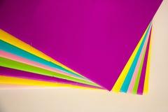 Livre coloré Photographie stock libre de droits