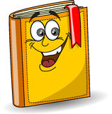 Livre d'école de dessin animé, vecteur Photographie stock libre de droits