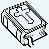 Livre de bible Photographie stock