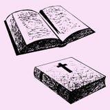 Livre de bible illustration libre de droits