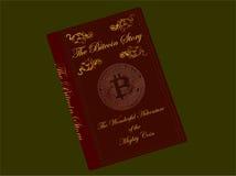 Livre de Bitcoin Images libres de droits