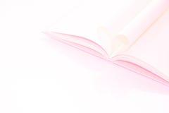 Livre de coeur - effet en pastel Image libre de droits
