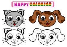 Livre de coloriage pour des enfants Photographie stock libre de droits