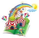 Livre de contes au sujet du carnaval Photos stock