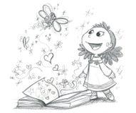 Livre de contes de fées Images libres de droits