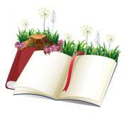 Livre de contes vide Images stock