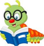Livre de lecture de Caterpillar illustration libre de droits