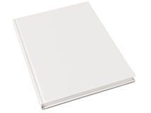 Livre de livre À couverture dure blanc Photos libres de droits