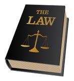 Livre de loi Images stock