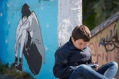 Livre de loi d'enfant Images libres de droits