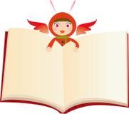 Livre de magicien illustration stock