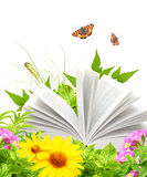 Livre de nature Photographie stock