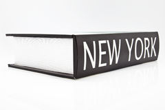 Livre de New York Images libres de droits