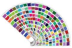 Livre de palette de couleurs de vecteur illustration stock