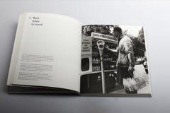 Livre de photographie par Nick Yapp, parcomètre à Londres 1958 Images stock